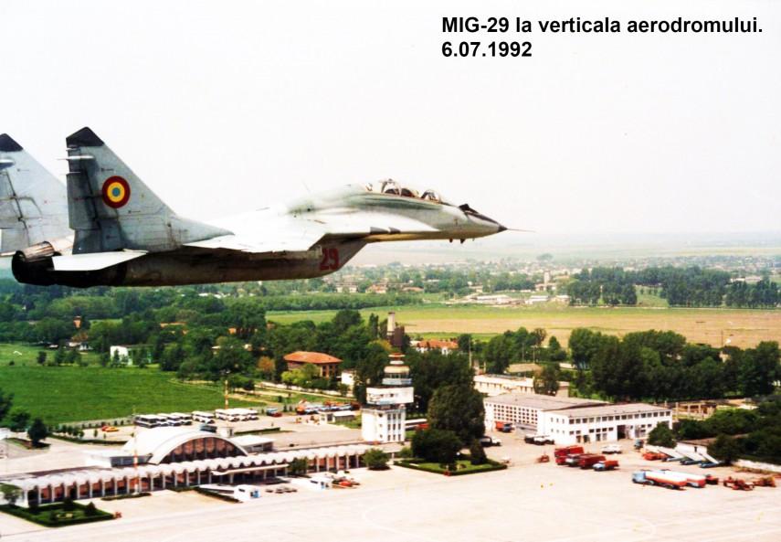 6 Iulie 1992, Aerodromul M. Kogălniceanu: Cronica tragică a unui tonou eșuat cu MiG-29