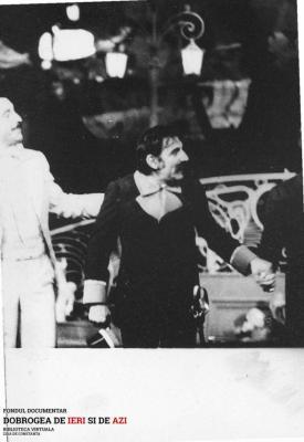 Teatrul national. O scrisoare pierduta. Jean Constantin