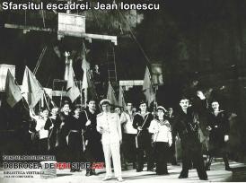 """""""Sfârșitul escadrei"""". Jean Ionescu"""