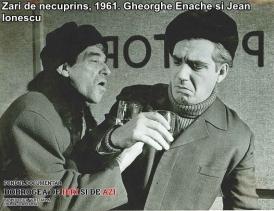 """""""Zări de necuprins"""", 1961. Jean Ionescu, Gheorghe Enache"""