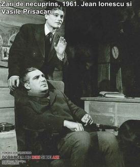 """""""Zări de necuprins"""", 1961. Jean Ionescu, Vasile Prisăcaru"""