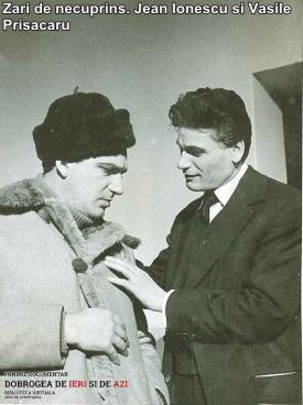 """""""Zări de necuprins"""". Jean Ionescu și Vasile Prisăcaru"""