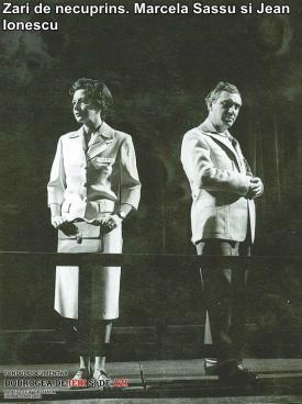 """""""Zări de necuprins"""". Marcela Sassu, Jean Ionescu"""