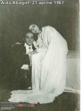 Aida Abagief, 21 aprilie 1961