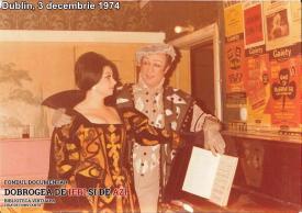 Aida Abagief, Dublin, 3 decembrie 1974