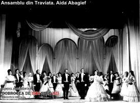 "Ansamblu din ""Traviata"". Aida Abagief"
