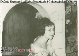 """""""Casa cu trei fete"""". Debut, Constanța, 14 decembrie 1962"""