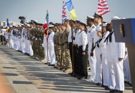 Personalul Forțelor Aeriene Regale, alături de militarii români, de Ziua Marinei. Ce au declarat britanicii