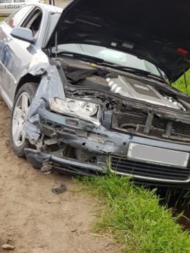 Accident teribil în urmă cu puțin timp! Trei mașini au fost implicate. Victime multiple