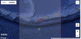 Cutremur de magnitudine 6.6. Alertă de tsunami. Unde a fost înregistrat epicentrul