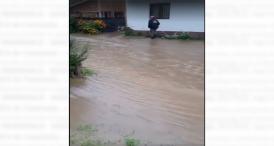 Inundații grave la Dorna Arini, unde este mănăstirea arhiepiscopului Tomisului, ÎPS Teodosie (video)