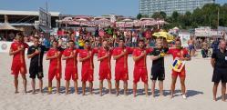 Fotbal pe plajă România a învins de două ori Bulgaria la Eforie Nord. Constănţeni printre marcatorii tricolori (galerie foto)