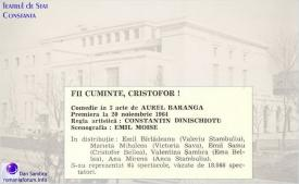 1964 Fii Cuminte Cristofor