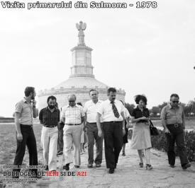 Vizita primarului din Sulmona, 1978