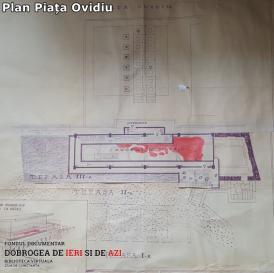 Plan Piața Ovidiu