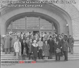 Participanți la sesiunea științifică din 1978