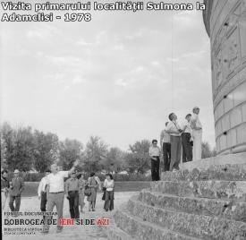 Vizita primarului din Sulmona la Adamclisi, 1978