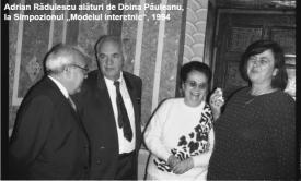 """#AdrianV.Rădulescu - ctitorul: Dr. Doina Păuleanu - """"Adrian Rădulescu era un om pe care puteai conta, care ţinea la oamenii lui şi ştia să-i apere indiferent de ce s-a întâmplat"""" (galerie foto)"""