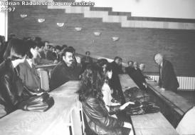 """#AdrianV.Rădulescu - ctitorul: Conferenţiar Emanuel Plopeanu - """"Niciodată personalitatea profesorului nu transmitea impresia suficienţei şi detaşării"""" (galerie foto inedită)"""