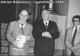 """#AdrianV.Rădulescu - ctitorul: Prof. univ. dr. Valentin Ciorbea - """"Profesorul Adrian Rădulescu (1932-2000), personalitate plurivalentă a Constanţei"""" (galerie foto)"""