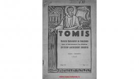 Tomis. Revistă eparhială de Constanţa - anul XX, august - septembrie 1943, nr. 8-9