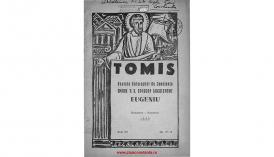 Tomis. Revistă eparhială de Constanţa - anul XX, octombrie-noiembrie 1943, nr. 10-11