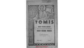 Tomis. Revistă eparhială de Constanţa - anul XXll, septembrie 1945, nr. 9