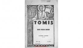 Tomis. Revistă eparhială de Constanţa - anul XXII, octombrie - noiembrie 1945, nr. 10-11