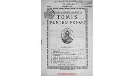 Tomis pentru popor, anul 1, noiembrie 1927, nr. 5