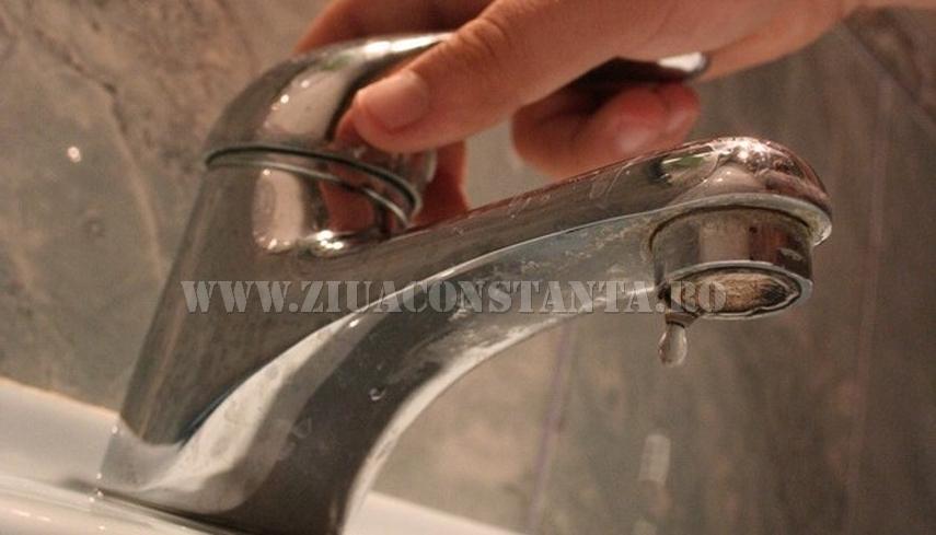 Avarie RAJA la Cernavoda. Ce abonati sunt afectati de lipsa apei potabile