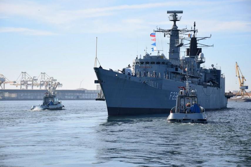 Inca o misiune indeplinita de marinarii militari: Fregata Regele Ferdinand se va intoarce acasa