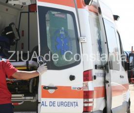 Accidenr rutier DN41, județul Giurgiu. Două autoturisme implicate. Trei victime, dintre care una rănită grav