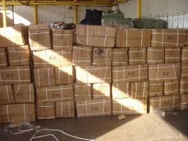 Mărfuri susceptibile de contrafacere, reţinute de inspectorii vamali constănțeni (galerie foto)