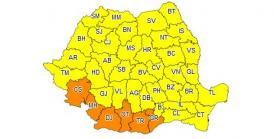 UPDATE. Se răceşte vremea în toată ţara Cod galben de vreme severă în Dobrogea!