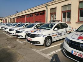 Autospeciale şi motociclete noi, în dotarea IPJ Constanţa! (galerie foto)