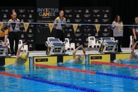 La Jocurile Invictus de la Sydney, Ionel Eugen Bida, cetăţean de onoare al Constanţei, s-a calificat în două finale la nataţie