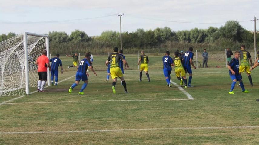 Fotbalul judetului Constanta: Sport Prim Oltina a facut scor cu Viitorul Targusor in Liga a 5-a