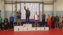 Bianca Mei-Roşu, din Constanţa, a câştigat, în Belgia, Stiga Masters Minimes Top 14 Europa (galerie foto)