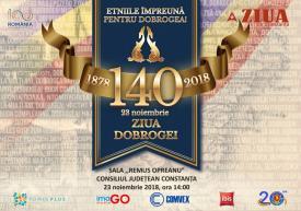 #Dobrogeaetnică: România 100. Dobrogea 140. Sărbătorind mozaicul etnic, cinstind memoria personalităţilor dobrogene