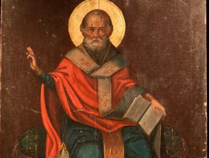 6 decembrie sfantul ierarh nicolae arhiepiscopul mirelor lichiei patronul saracilor orfanilor si comerciantilor