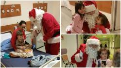 În perioada sărbătorilor de iarnă  Arimex Comexim 2000 SRL şi Moş Crăciun au pregătit zeci de surprize pentru pacienţi (galerie foto)