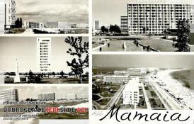 Stațiunea Mamaia - carte poștală din 1966