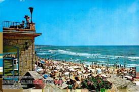 Plaja din Eforie Nord în 1975