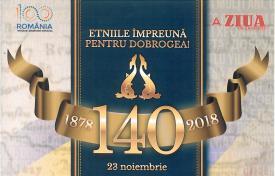 #sărbătoreșteDobrogea: Dobrogea 140 de ani. \