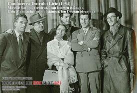 Conducerea Teatrului Liric Constanța (1954)