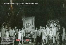 Radu Popescu și Corul Teatrului Liric Constanța