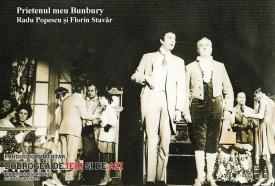 Radu Popescu și Florin Stavăr în Prietenul meu Bunbury