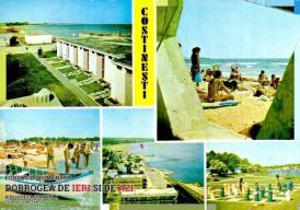 Imagini din stațiunea Costinești (1986)