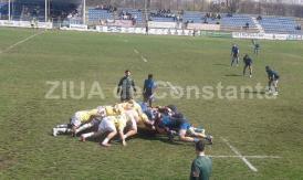 Rugbyştii de la Tomitanii vizează a treia victorie în Superligă, astăzi, la Constanţa, cu Universitatea Cluj