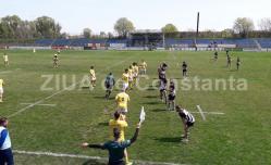 Partidă spectaculoasă la Constanţa în SuperLiga de rugby  Tomitanii au trecut de Universitatea Cluj printr-un eseu în ultimele minute